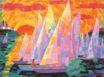 Dmytro Dobrovolsky : Red Sails in theSunset