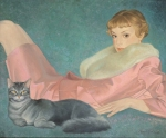 Tatiana Deriy : Lady with the Cat