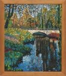 Dmytro Dobrovolsky : Bridge in aGarden