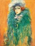 Albert Balayan : Noble Lady inGreen