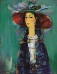 Albert Balayan : Lady in redhat