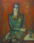 Yuri Grigorian : The Lady with the Glass ofWine