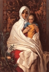 Tatiana Deriy : Holy Mother with the Child