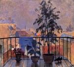 Anastasia Hohriakova :Balcony