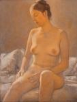 Michael Gurvich : Nude- The Artist'sWife