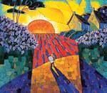 Dmytro Dobrovolsky :Sunset