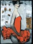 Andrew Smirnov : The Ballerina(Red)