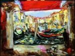 Galina Al'bertovna Bystritskaya : Fish Market.Venice.