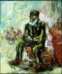 Galina Al'bertovna Bystritskaya : An old man in Sandals and RedSocks