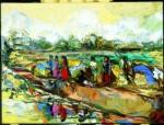Galina Al'bertovna Bystritskaya : Rice Market.India