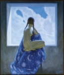 Oleg Shtihno : The Girl besides aWindow
