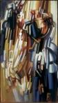 Evgeny Yusov : Triptych of a Woman. A Lion. PartA
