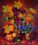 Arkadi Zrazhevski :Flowers